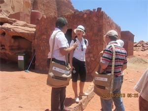 الشهادة البيئية للمخيمات الصحراوية في الأردن